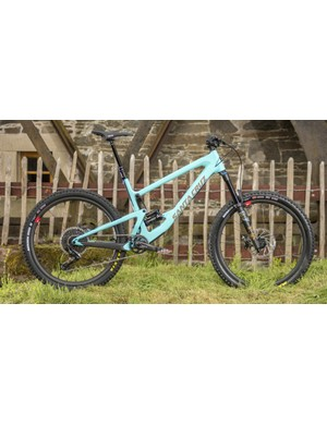 Spot the new shock position on the updated Bronson