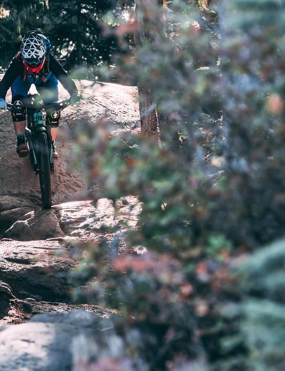 The new Santa Cruz Reserve wheel did pretty darn good when riding in rocky Whistler