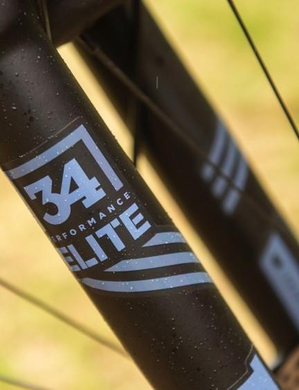 Fox Performance Elite suspension has impressed us recently
