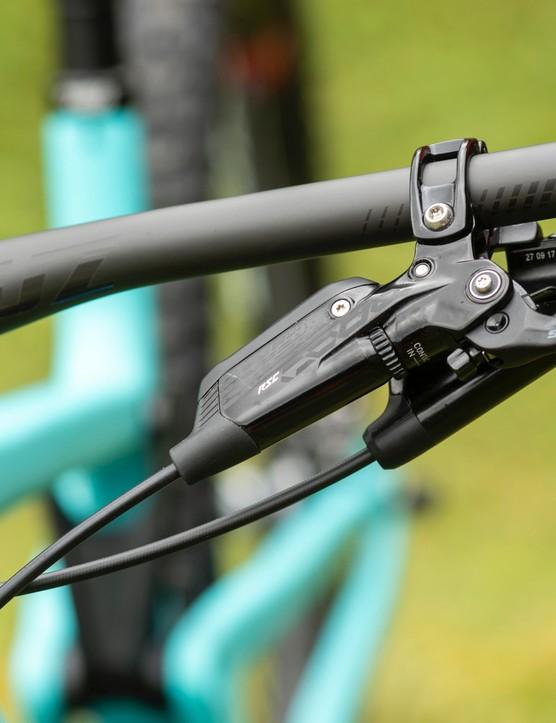 SRAM Code brakes provide plenty of power