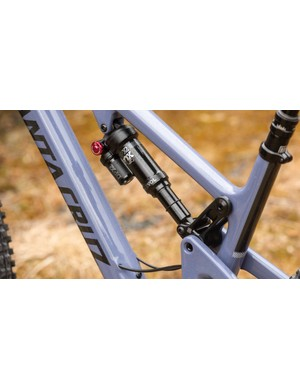 The Upper Link VPP suspension system is said to be better for playful trails, up and down