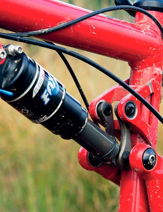 Jonathan Gawler©. The VPP suspension gives 115mm of rear wheel travel