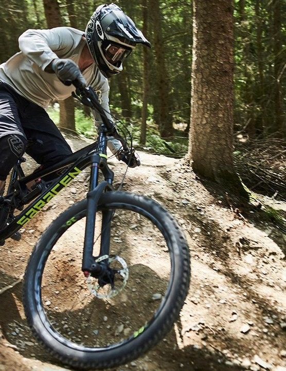 Fast, rough and full of roots, Revolution Bike Park gave the Ariel Elite a full workout
