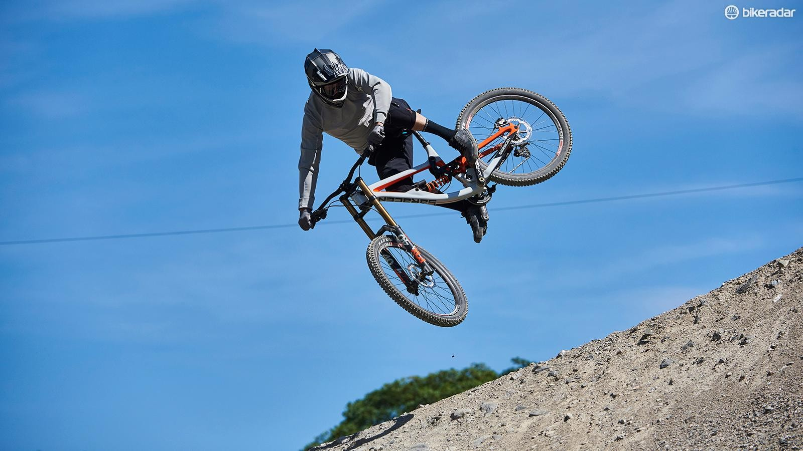 Putting the Myst Team through its paces at Revolution Bike Park