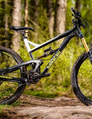 The geometry may not be cutting edge but the Ariel is tons of fun on the trail