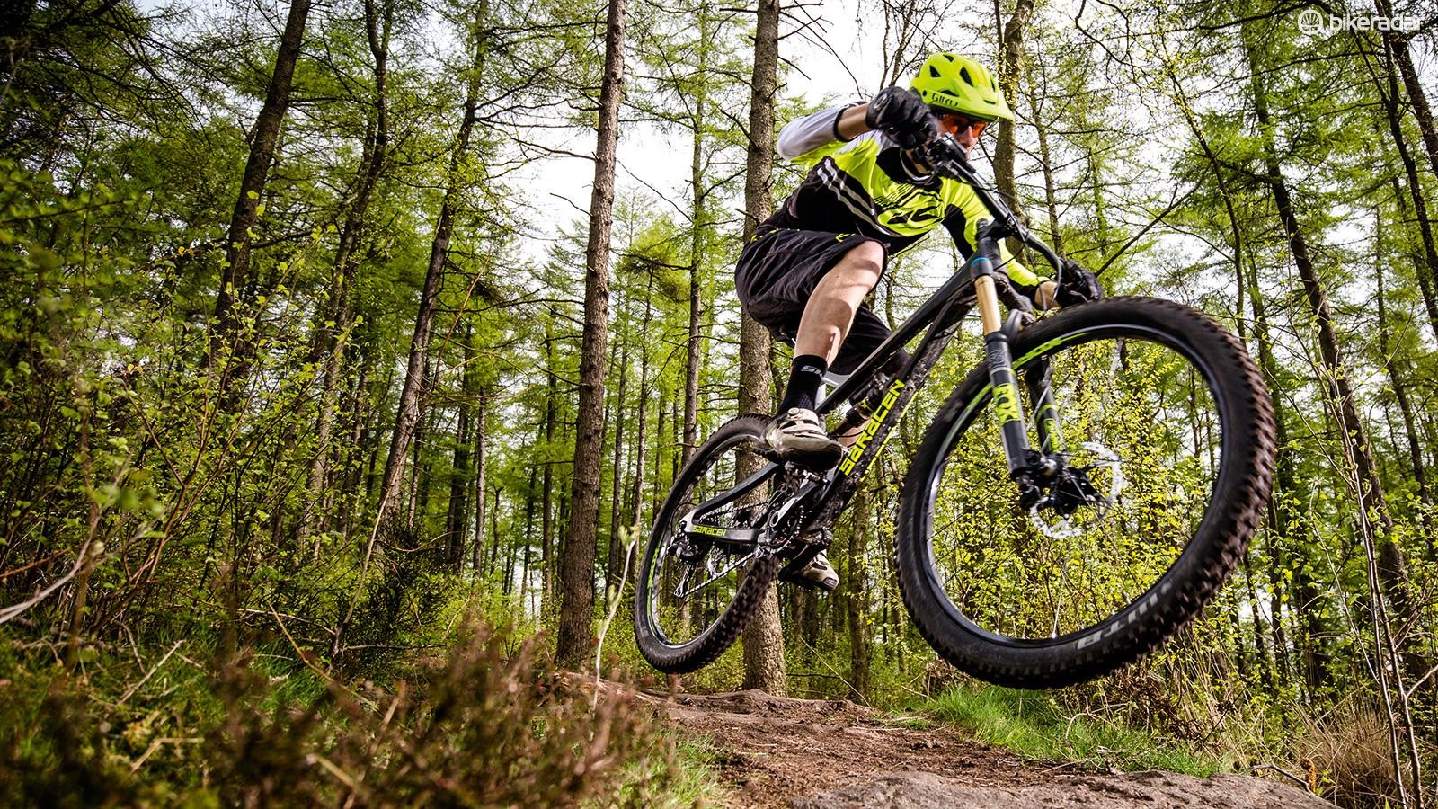 Point the Ariel downhill and any slight niggles evaporate – our test team loved spending time on this bike