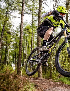 Point the Ariel downhill and any slight niggles evaporate –our test team loved spending time on this bike