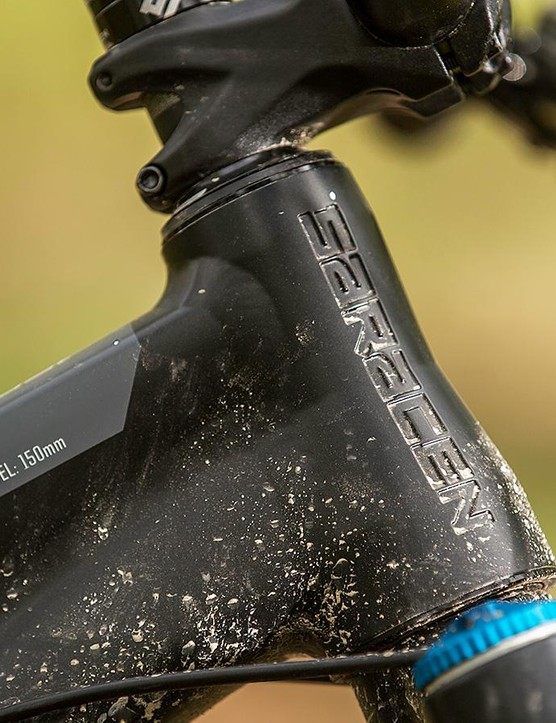 The 66-degree head angle isn't that slack by modern standards, and the stem not that short – but the Ariel is still a ripper