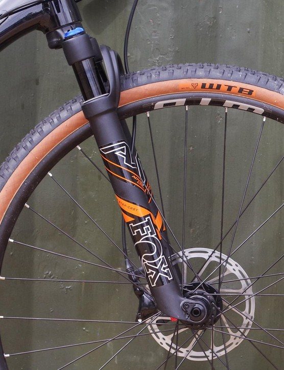 The Fox 32 Step Cast AX fork isn't available on many off-the-peg bikes