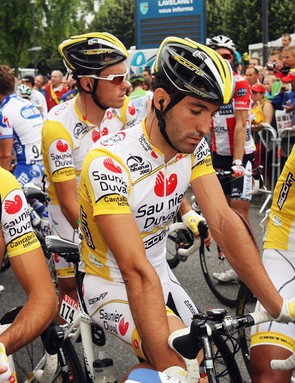 The Suanier Duval team already looked resigned to their fate just before they got pulled from the Tour in Lavelanet