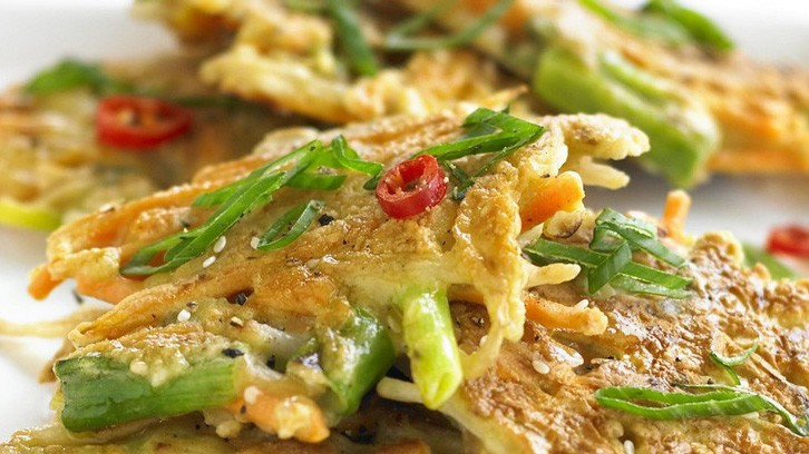 Savoury pancakes are a great idea too
