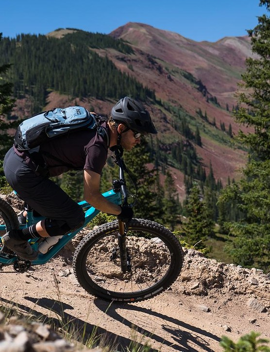 While the SB150 was designed to meet the needs of EWS athletes, it's equally at home on alpine epics