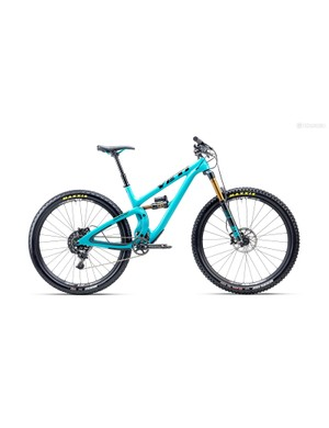 The SB5.5c is designed for aggressive trail riding