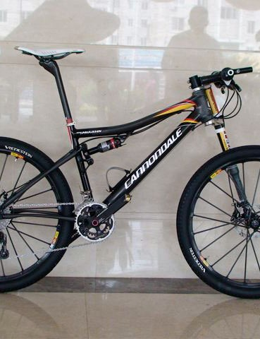 Superlight Cannondale Scalpel