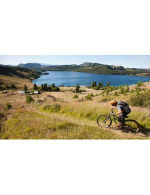 A bit of bushwhacking hearkened back to the early days of mountain biking