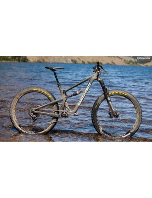 The 27.5+ conversion provides gobs of traction and stability, albeit at the expense of quickness