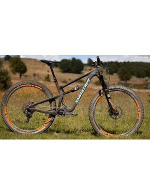 When equipped with 29er wheels the Hightower feels speedy and agile