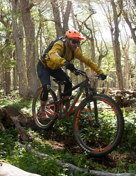The Santa Cruz Hightower has the same 135mm of travel has the Tallboy LT it's designed to replace but its trail manners are vastly different