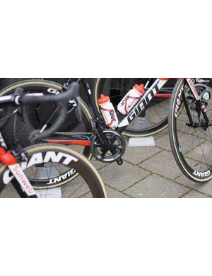 Sunweb has a mix of Shimano and Pioneer meters