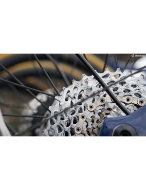 Most riders had an 11-36 cassette for the pan-flat Scheldeprijs paired with a 54t ring