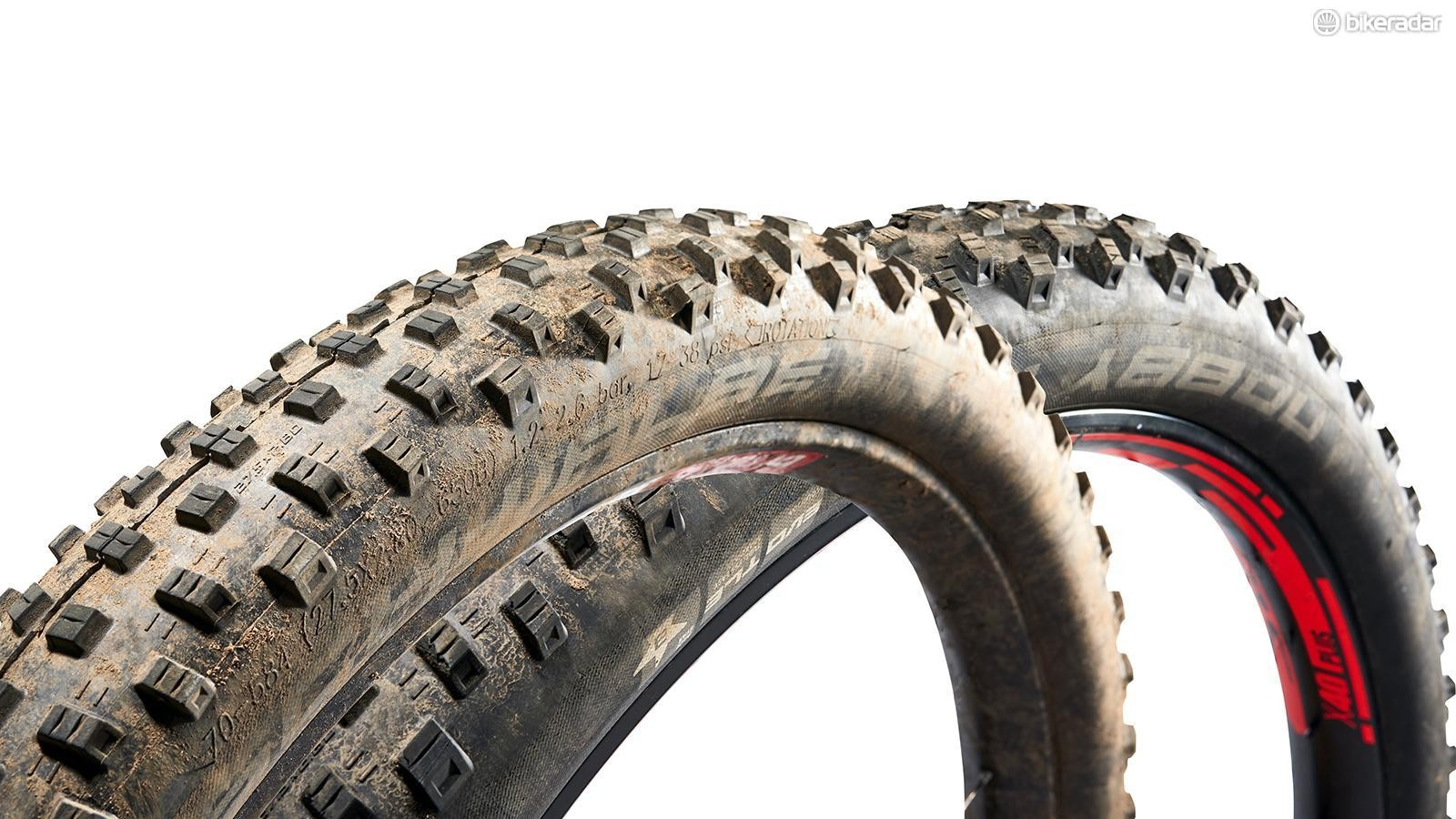 Once you move to a bigger tyre, reinforcing the casing comes with a proportionally greater weight penalty