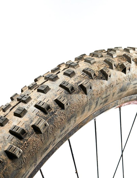 Schwalbe Nobby Nic TrailStar on the front