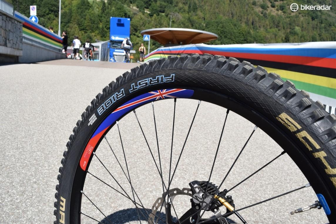 Schwalbe First Ride prototype Magic Mary tyres, designed for ProCore