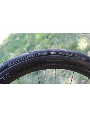 Schwalbe's Pro One tubeless tyre