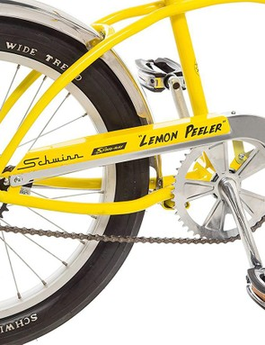 No gears here, but the coil-sprung saddle is present
