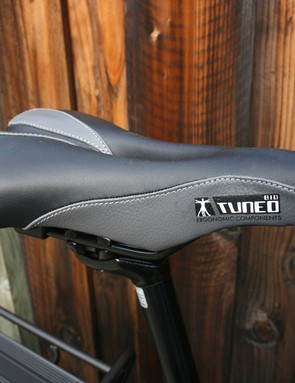 Comfortable, durable saddle.