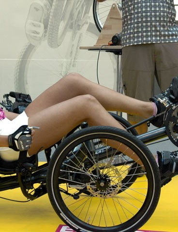 The world's first fully suspended folding tricycle recumbent