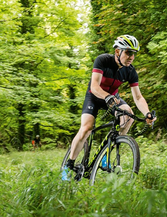 The new Addict CX has devastating 'cross speed, but could be faster still