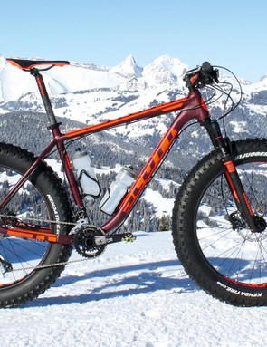 Scott's alloy-framed Big Ed is a relatively affordable but hefty specimen