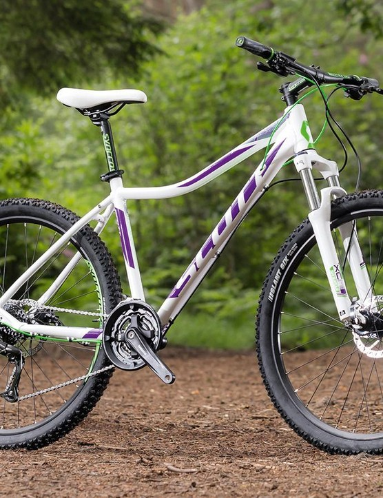 Scott's Contessa 720 is in its element on more sedate trails, but it soon becomes unstuck on gnarlier terrain