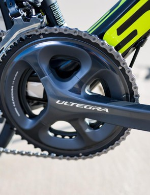 A semi-compact crankset offers the best of both worlds