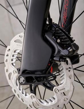 Shimano RT800 brake rotors improve cooling and safety