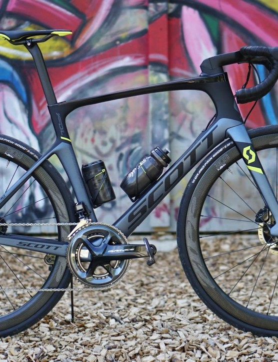 The Scott Foil Premium Disc is the rarified top end of the Swiss company's brand new aero disc range