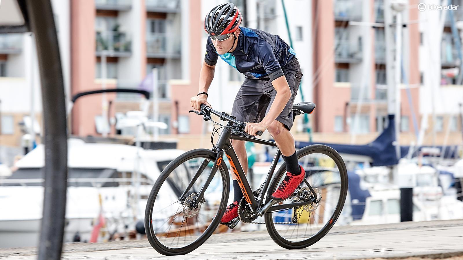 a45d9aeedd5 Scott Metrix 20 Disc review - Hybrid Bikes - Bikes - BikeRadar