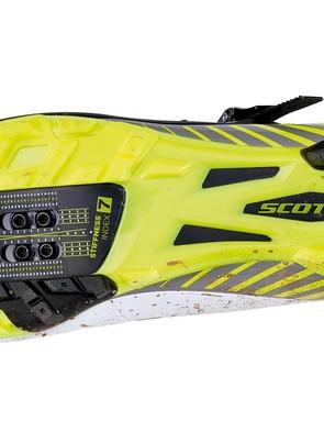 The nylon/fibreglass composite sole