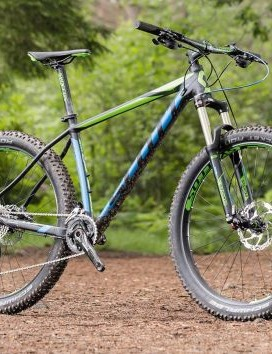 Fast, light and fun, the second coming of hardtails can be found aboard Scott's Scale 720 Plus