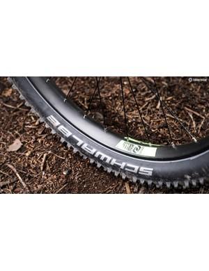 Schwalbe's plus tyres
