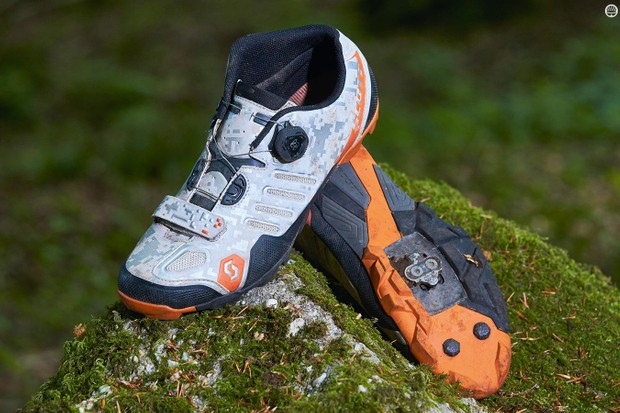 Scott's Shr-Alp shoes are superbly well-executed for all-day rides