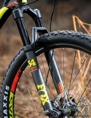 Fox takes care of the front, too, with its 34 Float fork