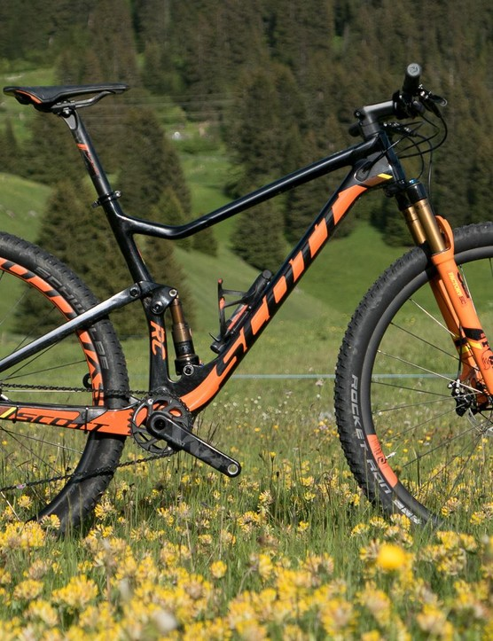 The all new Scott Spark 900 RC is just what Nino Schurter will be racing at Rio