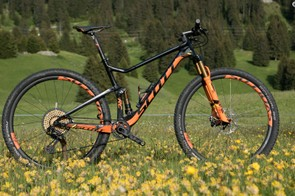 The redesigned Spark has geometry that skirts trail bike dimensions