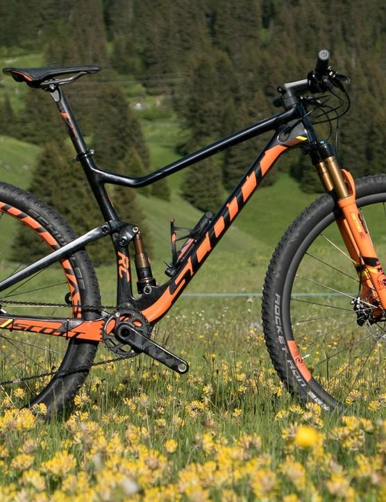 Super lightweight XC Scott Spark 900 RC SL - BikeRadar