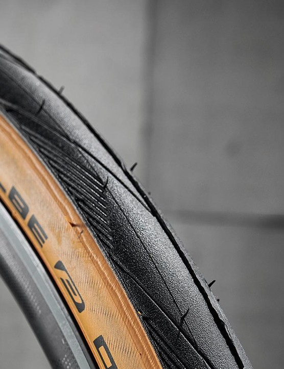 Big volume Schwalbe tyres provide bags of grip and comfort