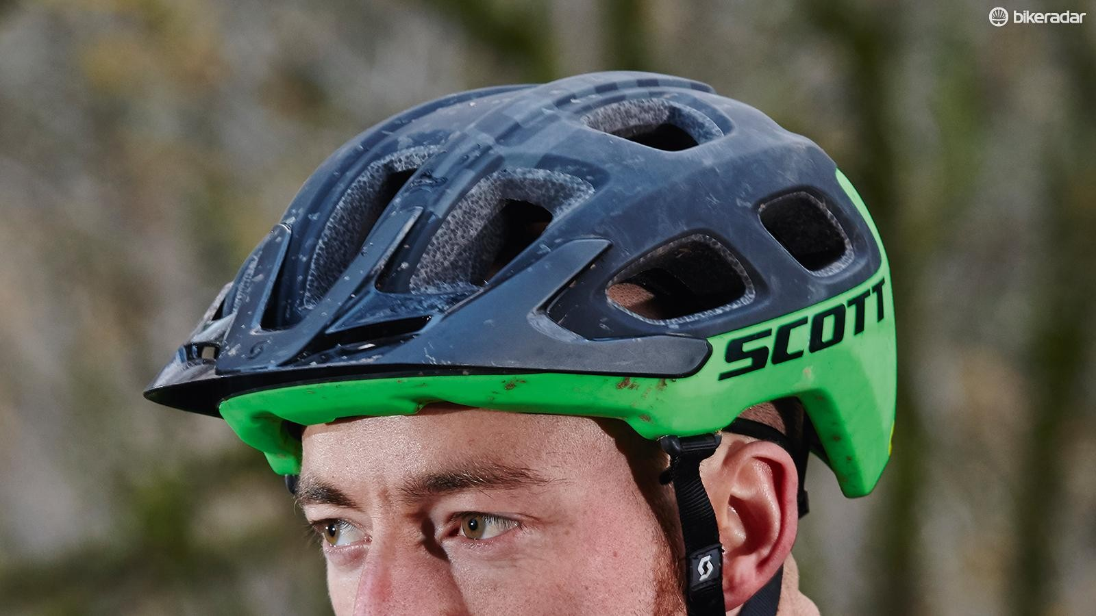 Scott's Vivo Plus helmet is a strong option for everyday trail riding