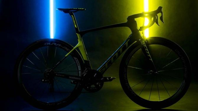 Orica-Scott will be riding these new bikes in 2017