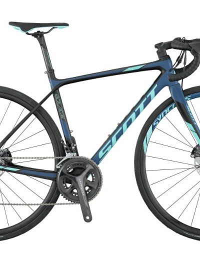The Contessa Solace is a carbon bike with women's specific endurance geometry